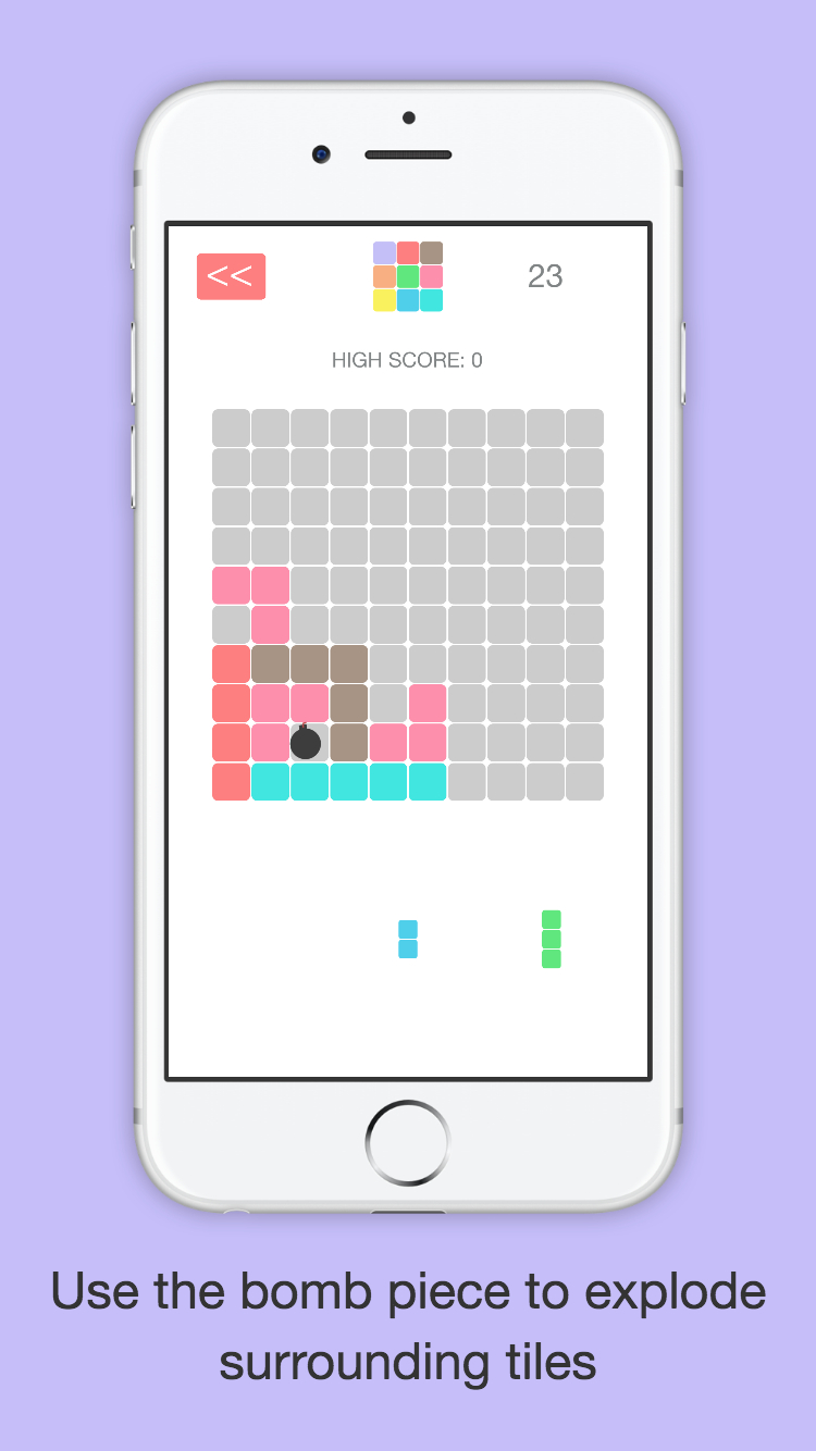 Gridblock iPhone Screenshot 3